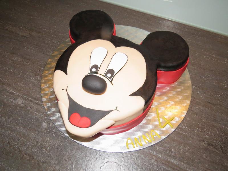 Micky Maus Luxus Torten