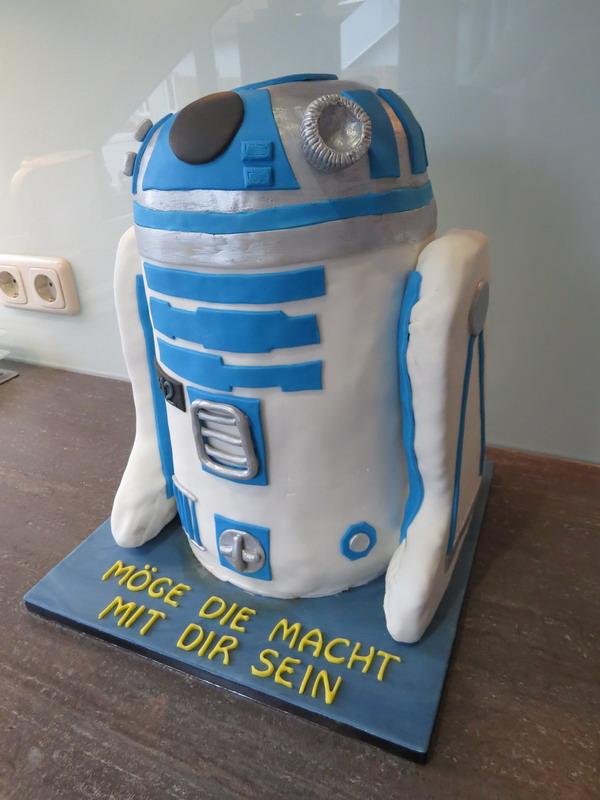 Star Wars R2d2 Luxus Torten
