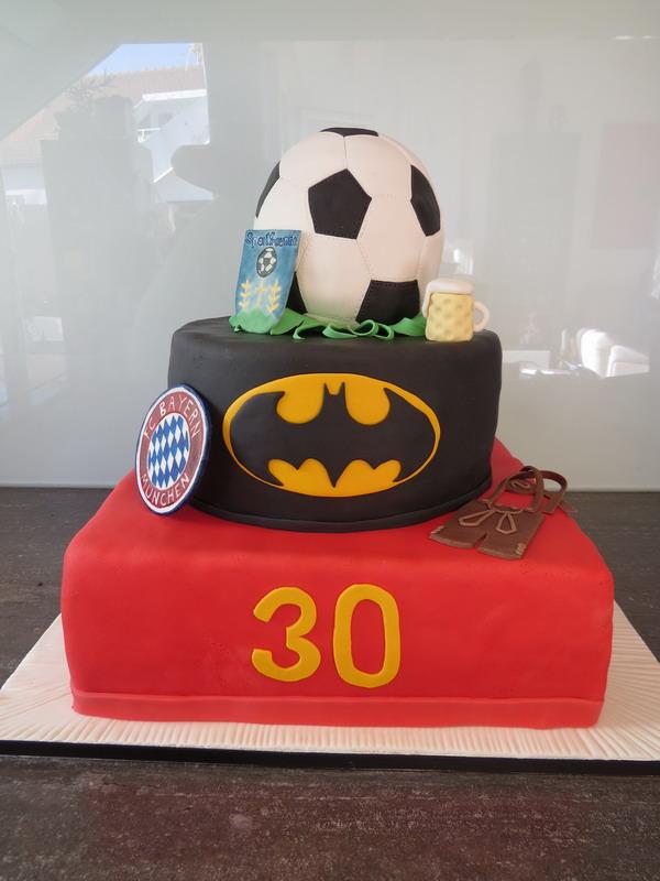 30 Geburtstag 3 Stockig Luxus Torten